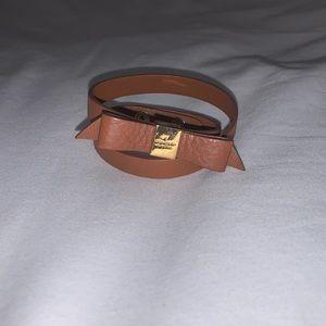 Kate Spade wrap bracelet.